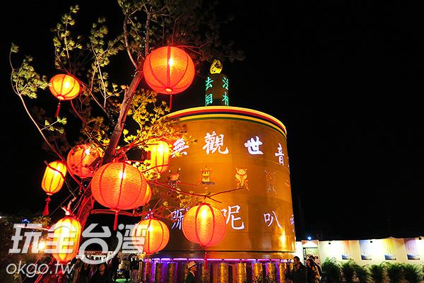 32個轉經輪為大家祈福帶來好運/玩全台灣旅遊網攝