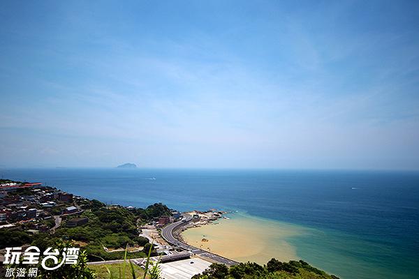 新北市瑞芳區水湳洞陰陽海/玩全台灣旅遊網攝