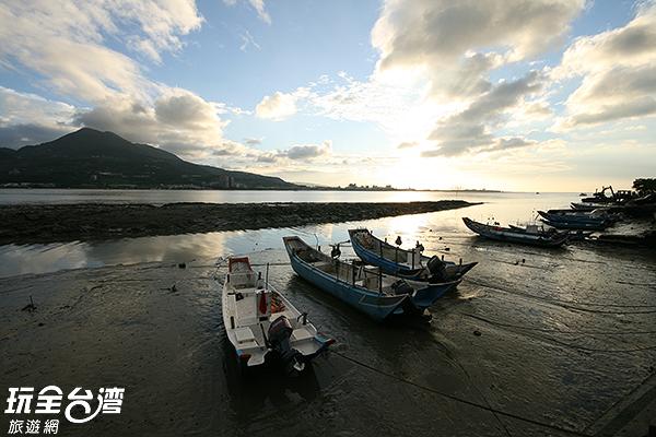 新北市淡水區夕陽/玩全台灣旅遊網攝