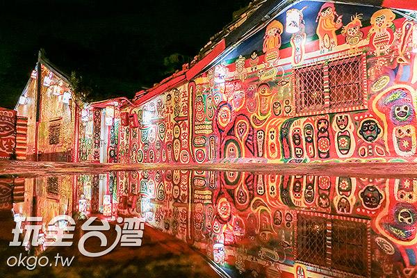 點亮燈籠,美不勝收/玩全台灣旅遊網特約記者陳健安攝
