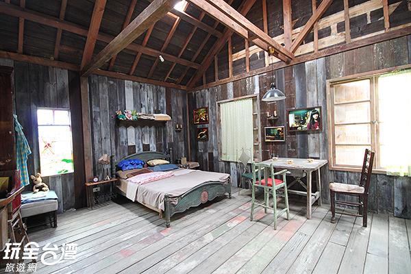 屋內空間出乎意料地很寬敞耶~/玩全台灣旅遊網攝