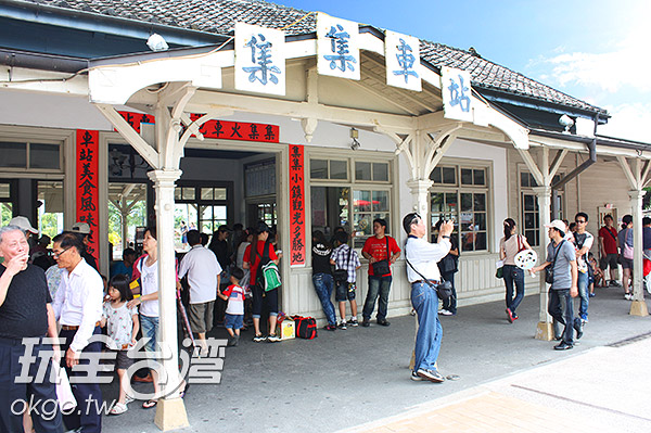 集集火車站是到集集的必遊景點/玩全台灣旅遊網攝