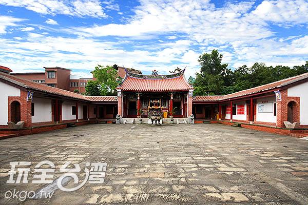 明新書院可是國家三級古蹟喔! /玩全台灣旅遊網攝