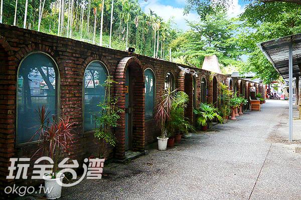 罕見的舊式目仔窯共有十三個目,因此稱做十三目仔窯 /玩全台灣旅遊網攝