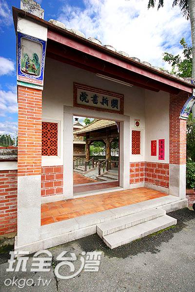 古老的建築經過修建,仍可見典雅的傳統美學 /玩全台灣旅遊網攝