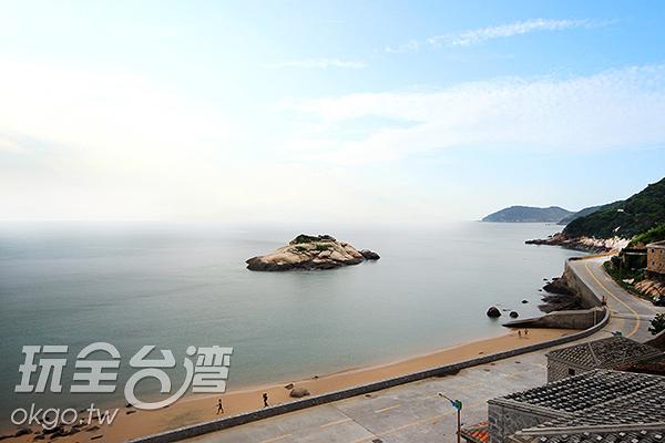 芹壁沙灘也可以看見藍眼淚喔~/玩全台灣旅遊網攝