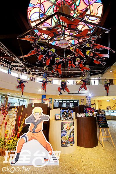 彩繪玻璃天幕~好夢幻璀璨呀/玩全台灣旅遊網攝
