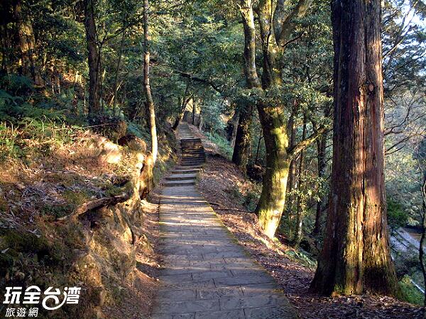 開始準備前往步道旅行囉!/玩全台灣旅遊網攝