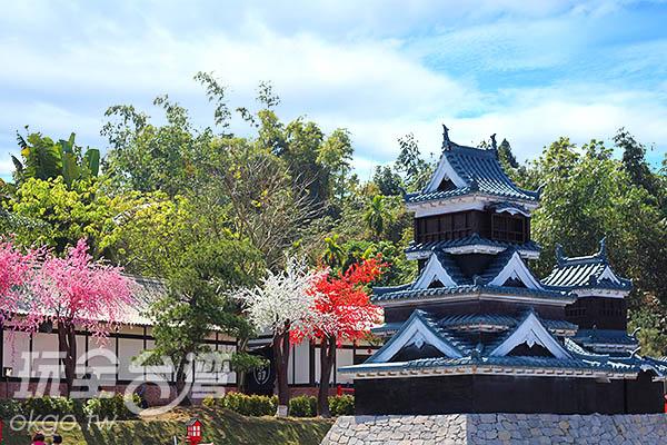 想看大阪城不必去日本了,來這裡就好了!/玩全台灣旅遊網攝
