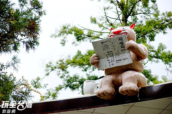 留意喔~隨處都藏著可愛的小妖怪/玩全台灣旅遊網攝