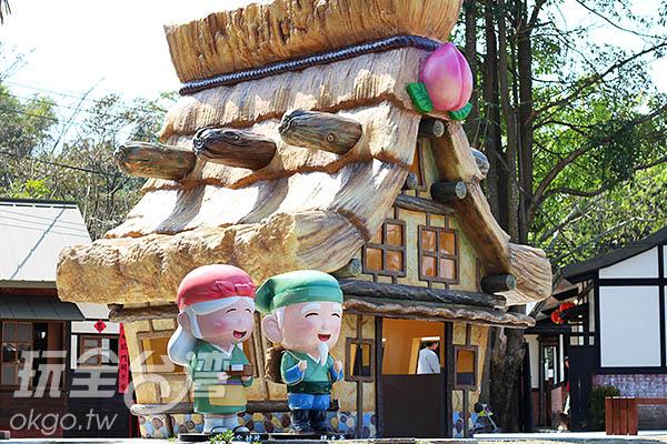桃太郎的故事場景在這裡擬真呈現/玩全台灣旅遊網攝