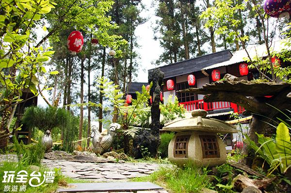 潛藏鹿谷綠意中的妖怪山城/玩全台灣旅遊網攝
