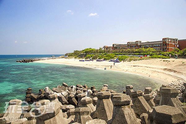 海島旅遊絕對少不了沙灘!/玩全台灣旅遊網特約記者陳健安攝