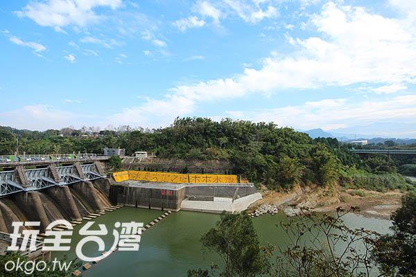 大埔水庫為第一座由國人自行設計、建造的水庫/玩全台灣旅遊網攝