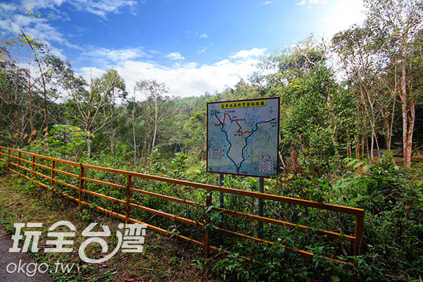 有了地圖路徑解說就不怕迷路了!/玩全台灣旅遊網攝