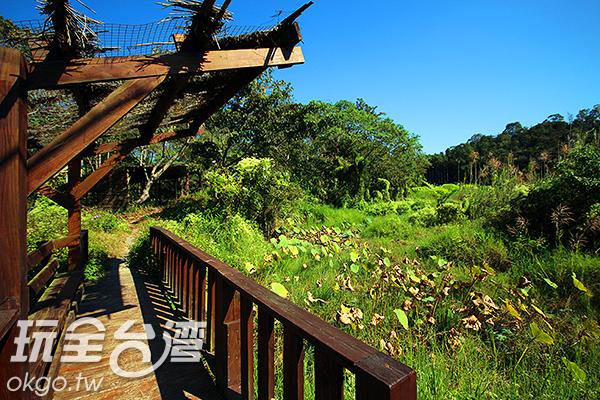 除了豐富的自然生態,也有多樣化的遊憩設施/玩全台灣旅遊網攝