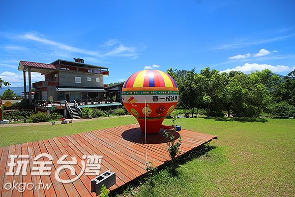 春一枝內也擁有大片草皮讓人駐足欣賞/玩全台灣旅遊網攝