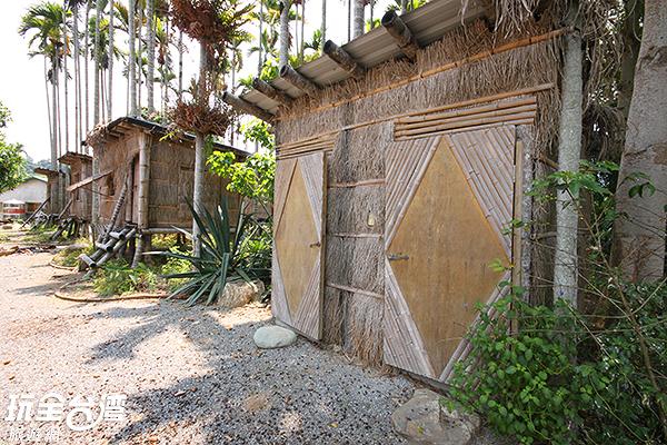 全台唯一以活檳榔樹為支架所打造的樹屋/玩全台灣旅遊網攝