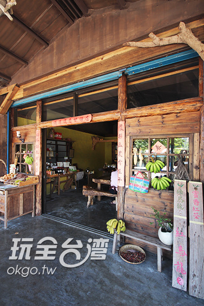 裡頭專賣當地農特產品/玩全台灣旅遊網攝