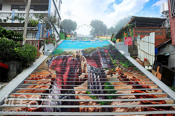 3D景色讓人又驚又喜/玩全台灣旅遊網特約記者吳明倫攝