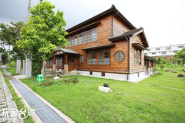 原本荒廢閒置的招待所宿舍重新改造再利用/玩全台灣旅遊網攝