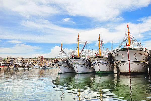 澎湖最旺盛的漁港/玩全台灣旅遊網特約記者陳健安攝