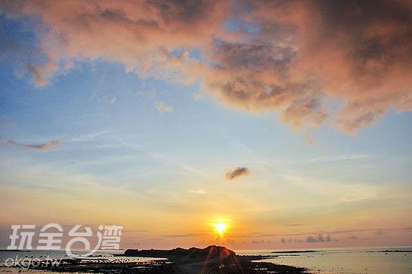 奎壁山面朝東北,也是觀賞日出的理想地點/玩全台灣旅遊網特約記者陳健安攝