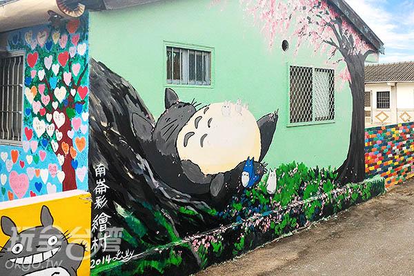 噓!安靜點,別吵醒沉睡中的龍貓了/玩全台灣旅遊網攝