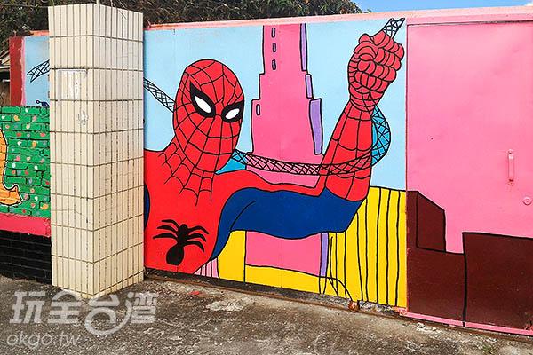 蜘蛛人出沒!/玩全台灣旅遊網攝