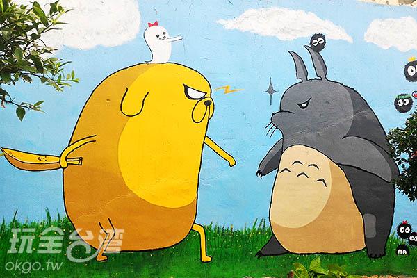 老皮和熊貓的決鬥!到底誰會拔得頭籌?/玩全台灣旅遊網攝