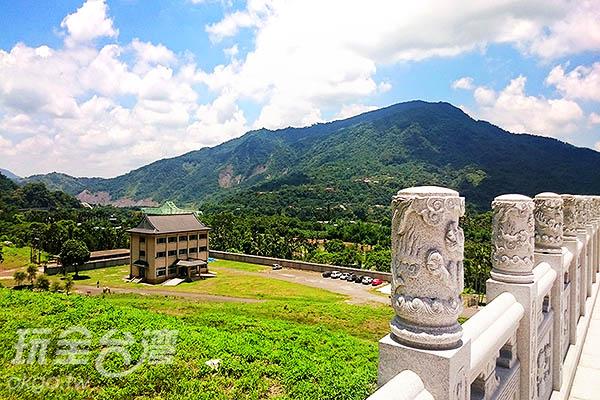 俯瞰園區與管理服務中心/玩全台灣旅遊網特約記者蔡忻容攝