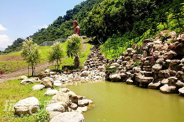 觀光山溝以及瀑布許願池/玩全台灣旅遊網特約記者蔡忻容攝