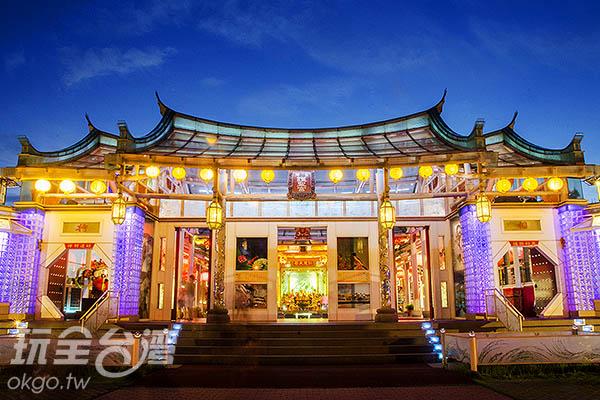 玻璃媽祖廟正名為「護聖宮」/玩全台灣旅遊網特約記者陳健安攝