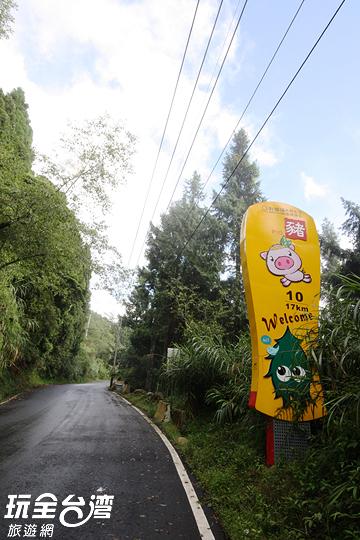 看到豬灣就代表到了忘憂森林的入口囉/玩全台灣旅遊網攝