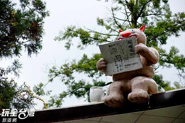 妖怪村內四處可看見妖怪的蹤影/玩全台灣旅遊網攝