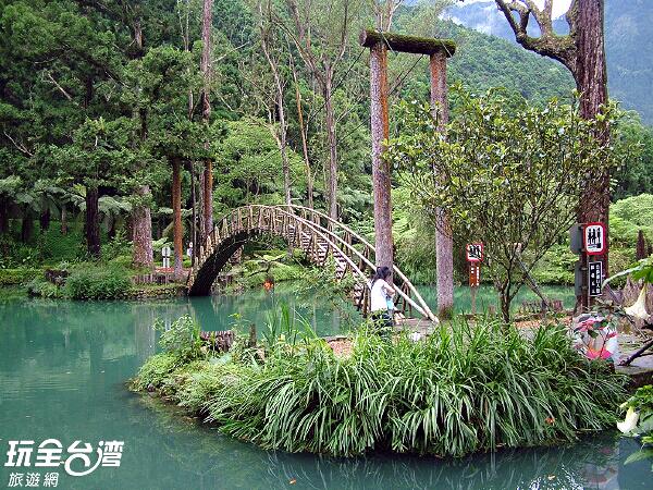 擁有大自然調節氣溫,形成最消暑的園區/玩全台灣旅遊網攝