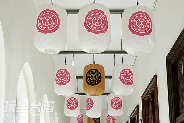 上頭的吊燈有如畫龍點睛/玩全台灣旅遊網特約記者陳健安攝