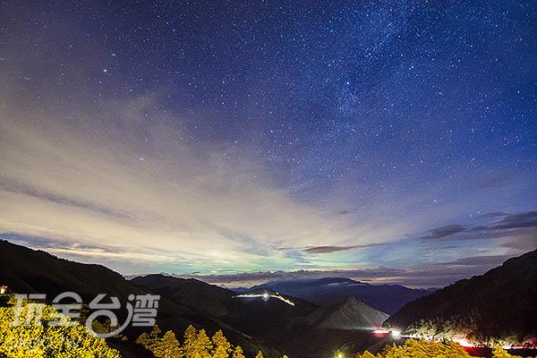 東邊的一頭,也微微露出日光/玩全台灣旅遊網特約記者陳健安攝