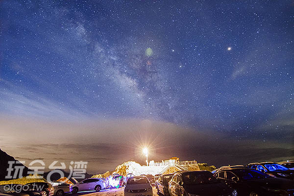 今晚,讓銀河伴著入眠/玩全台灣旅遊網特約記者陳健安攝