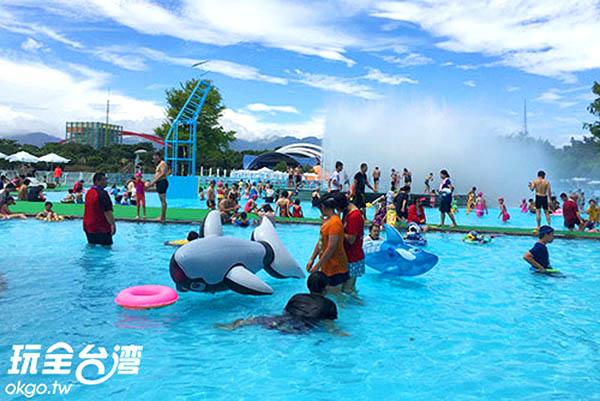 不論是大人、小孩都玩得不亦樂乎/玩全台灣旅遊網攝