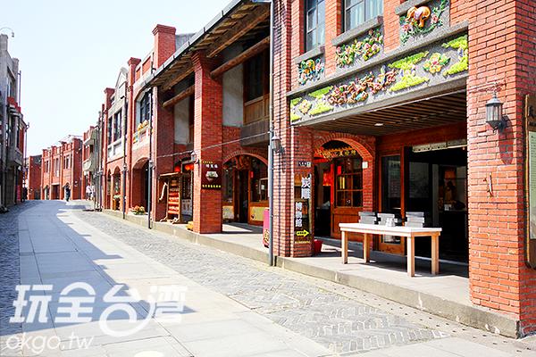 古色古香的街道見證台灣舊時建築與歷史/玩全台灣旅遊網攝
