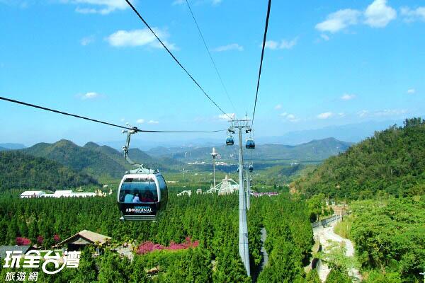 全台唯一有纜車的遊樂場/玩全台灣旅遊網攝