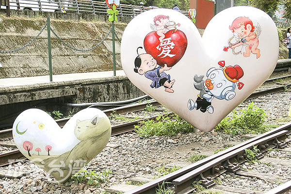 濃厚愛情的甜蜜造景/玩全台灣旅遊網特約記者陳健安攝