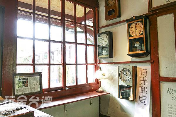 時光郵局,寫下兩人的時光明信片/玩全台灣旅遊網特約記者陳健安攝