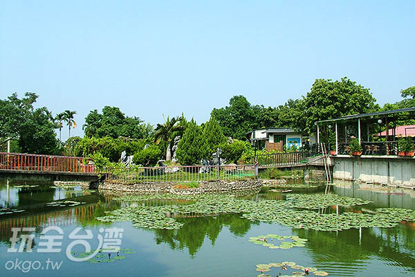 公園內不僅有生態池,還有動物區可讓小朋友觀賞哦!/玩全台灣旅遊網攝