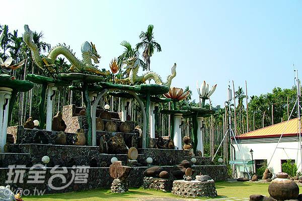 園內有各式各樣的奇石供大家欣賞/玩全台灣旅遊網攝