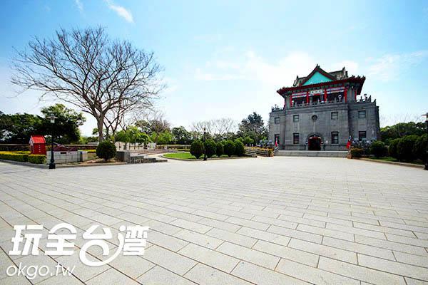 仿古宮殿式的建築充滿中國味/玩全台灣旅遊網攝