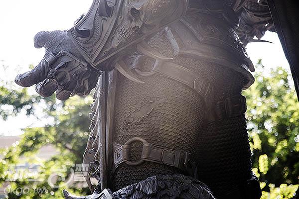 連戰後的破損也完美刻劃/玩全台灣旅遊網特約記者陳健安攝