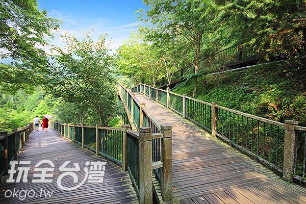 約15分鐘就可以走完全程/玩全台灣旅遊網攝