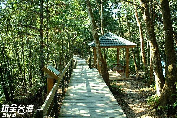 步道全長六百公尺,海拔高度約在八百三十五至九百公尺之間/玩全台灣旅遊網攝